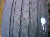 Opona używana ciężarowa 285/60R22.5 Bridgestone R227