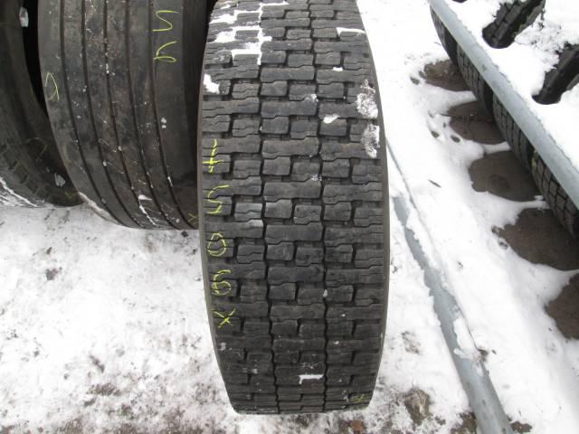 Opona używana 315/60R22,5 Dunlop BIEŻNIKOWANA