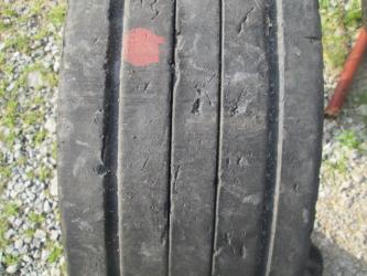 Opony używane 245/70R17.5 Goodyear LHT - 2 szt. (500771). Opony nr: 5635 7364