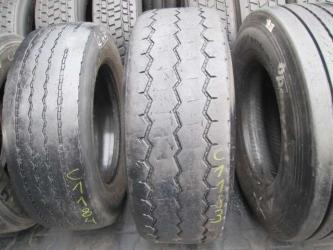 Opony używane 385/65R22.5 GT RADIAL GT876 - 2 szt. (501221). Opony nr: 21183 25138
