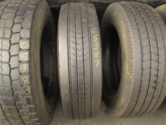 Opony używane 205/75R17.5 Bridgestone R227 - 2 szt. (500270). Opony nr: 25381 33729